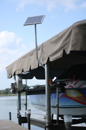 Lake Lite 10w 12v Solar Boat Lift Charging Kit Ll Spck 10w 12v