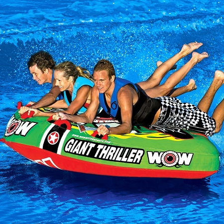 Fishing Pontoon Boats For Sale >> WOW Giant Thriller 11-1090 - Tow It