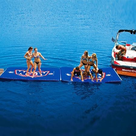 Wow Water Walkway Inflatable Interconnectable Island Mat