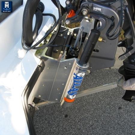"Minn Kota Trolling Motors >> TH Marine ATLAS™ Hydraulic Jack Plate - 4"" setback AHJ-4V ..."