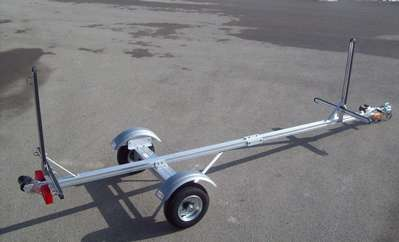 Trailex Sut 220 S Canoe And Kayak Ultra Light Duty Trailer