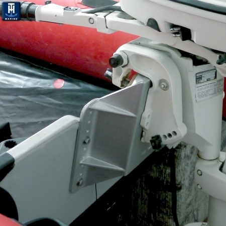 Solar Panels For Boats >> TH Marine MINI-JACKER™ - Small Engine Jack Plate MJ-1-DP