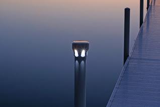 lake lite under-glow solar dock lite: model ll-sdl-ug-x dock lights, Reel Combo
