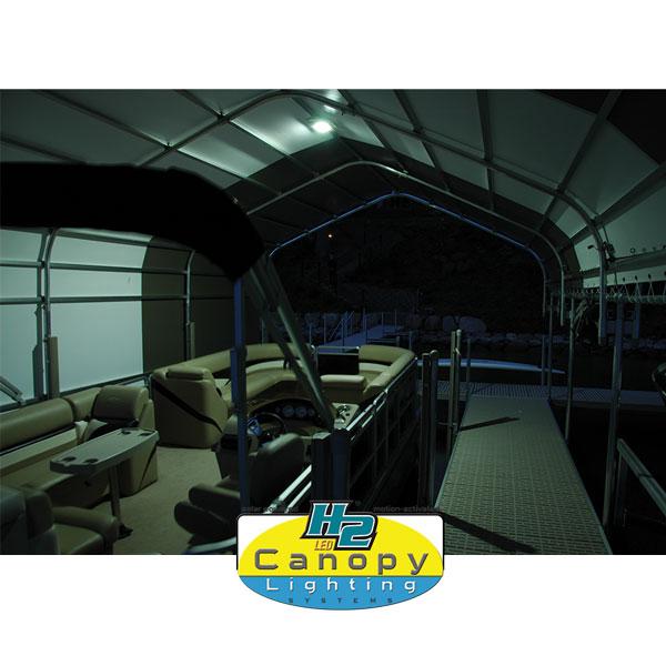 Touchstone H2 Solar Canopy Lighting Acrp5