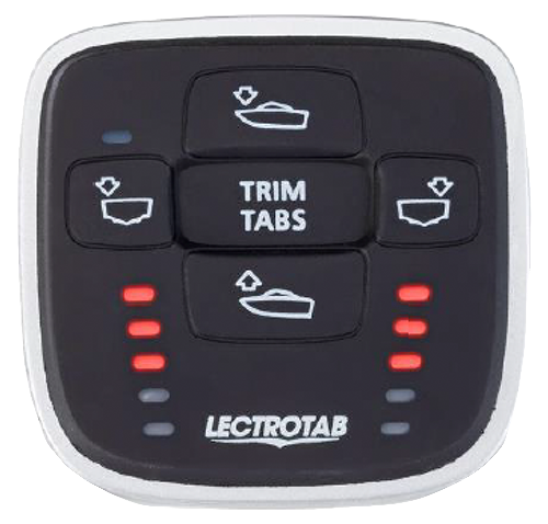 how to use trim tabs on boat