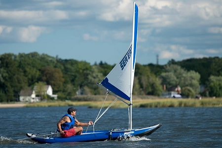 Sea Eagle Sail Rig For Explorer Kayaks