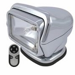Golight Stryker H.I.D. 30063 (Chrome) with Wireless Hand Held Remote - Magnetic Mount