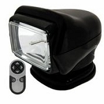 Golight Stryker H.I.D. 30513 (Black) with Wireless Hand Held Remote - Magnetic Mount