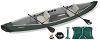 Sea Eagle TC16 Inflatable Travel Canoe 16 - Start Up and Electric Pump Package