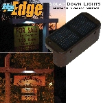 H2-TE4-BR Touchstone The Edge Solar Powered Down lights in Brown