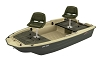 Sun Dolphin Pro 120 Deluxe Small Fishing Boat 11027