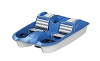 Sun Dolphin Laguna 5 Seater Pedal / Paddle Boat with Adjustable Seats