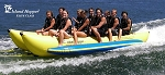 Island Hopper Elite Class Banana Boat - 10 Passenger, 17', Side-to-Side Seating PVC-10-SBS