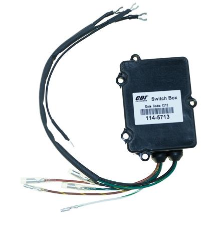cdi electronics mercury mariner switch box 2 cyl 114 5713. Black Bedroom Furniture Sets. Home Design Ideas