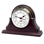 Weems & Plath Single Wood Base Endurance 125 Base Only - Clock NOT Included