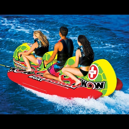 WOW Dragon Boat 3 Person Inflatable Towable 13-1060