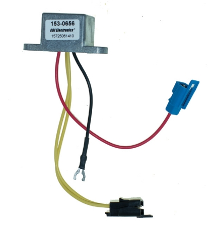 CDI Electronics Johnson Evinrude Rectifier (Double Plug) 153-0656