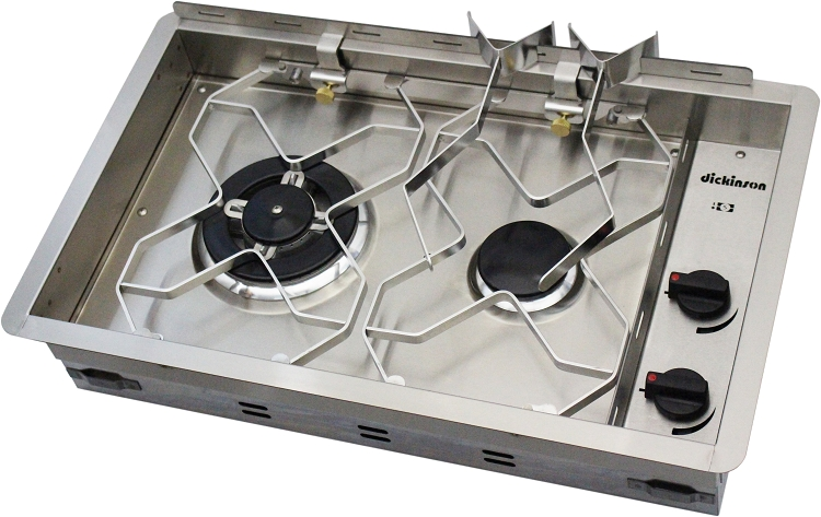 Dickinson Marine 00 2bp Two Burner Propane Drop In Cooker