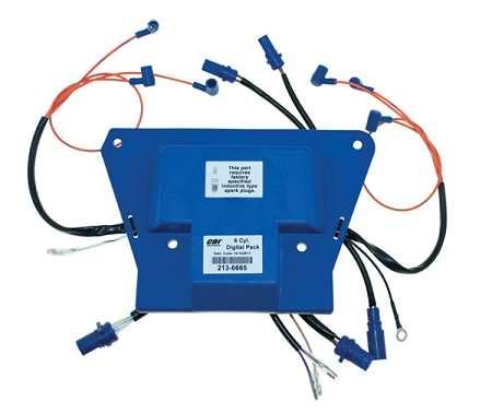 CDI Electronics Johnson Evinrude 6 Cyl. Looper Digital Pack (Requires Digital Timer Base) 213-6665