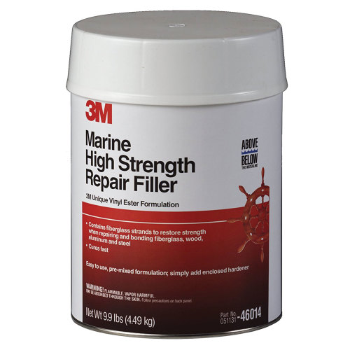 3M 46014 Marine High Strength Repair Filler - Gallon