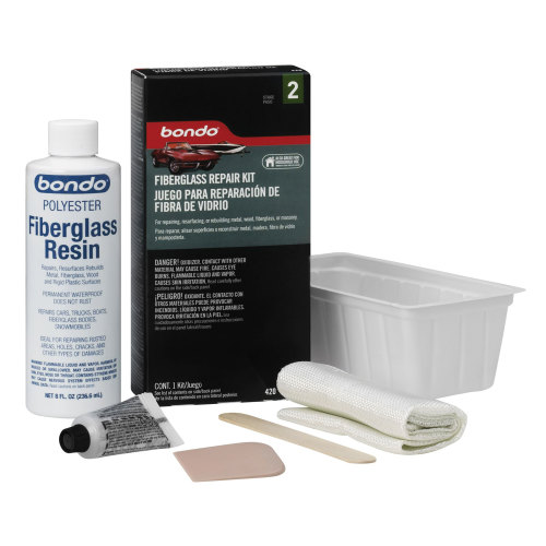 3M 420 Bondo Fiberglass Resin Repair Kit
