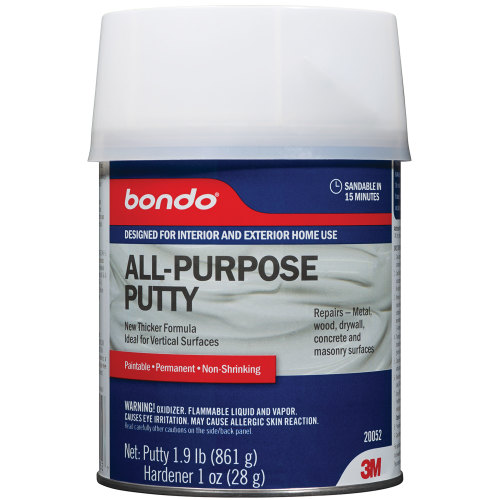 3M 20052 All-Purpose Putty, 1 Quart