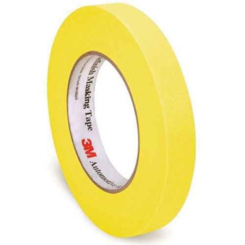 3M 06652 Automotive Refinish Masking Tape - 18 mm x 55 m