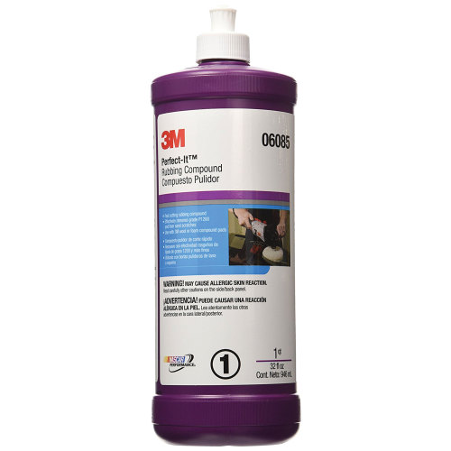 3M 06085 Perfect-It Rubbing Compound - Quart