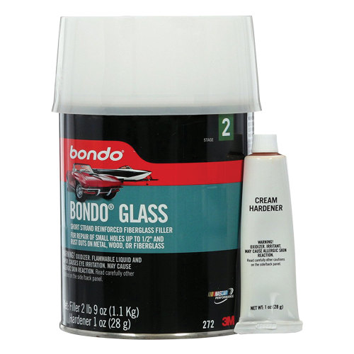 3M 272 Bondo Glass Reinforced Filler - Quart