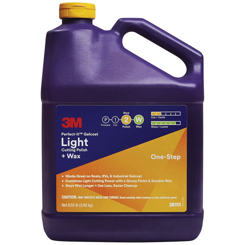 3M 36111 Perfect-It GelCoat Light Cutting Polish Plus Wax - Gallon
