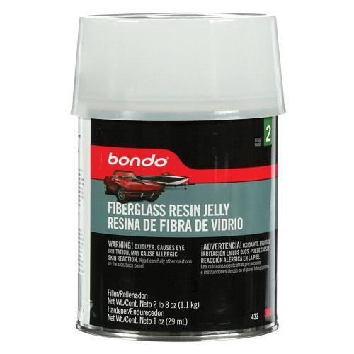 3M 432 Bondo Fiberglass Resin Jelly - Quart