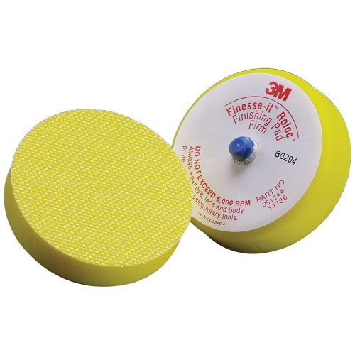 3M 14736U Finesse-it Roloc Finishing Disc Pad - 3