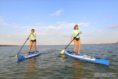 The Inflatable Paddleboard - The Worlds New Most Popular Water Sport