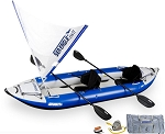 Sea Eagle 380x Explorer QuikSail Package Whitewater Kayak 380XK_QS