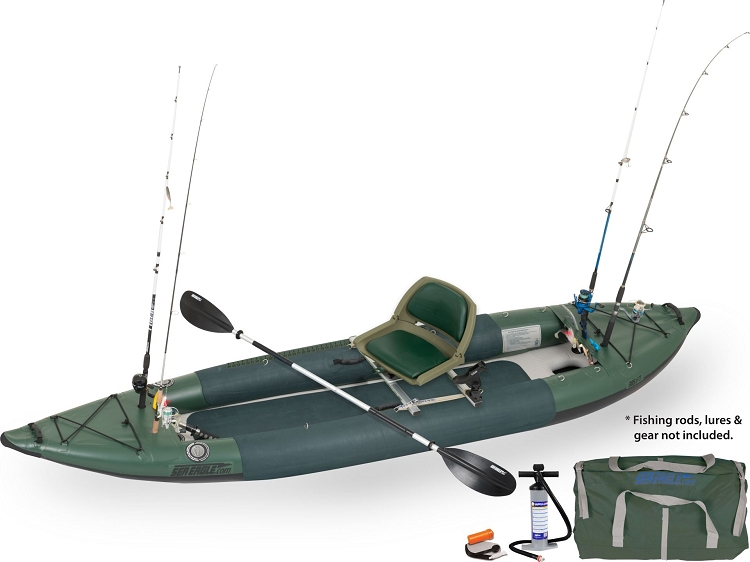 Sea Eagle 385fta FastTrack Swivel Seat Fishing Rig Angler Series Fishing Inflatable Kayak