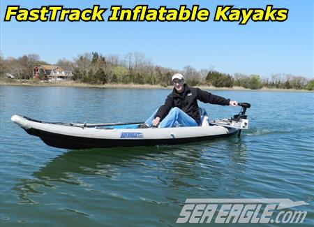 Sea Eagle 465ft FastTrack Pro Inflatable Kayak Package 465FTK_P