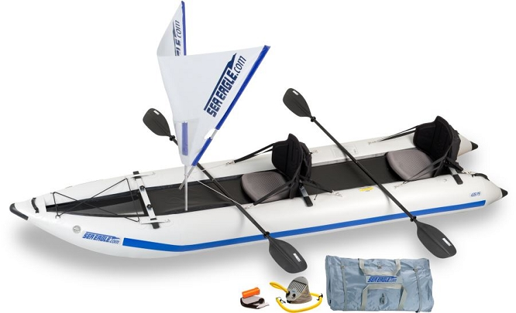 Sea Eagle 435ps Sailing Paddleski Inflatable Kayak Package