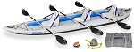Sea Eagle 465ft FastTrack Deluxe Kayak Package 465FTK_D