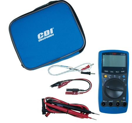 CDI Electronics CDI Multimeter - Volts, Ohms, Temp 511-60