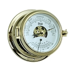 Weems & Plath Endurance II 115 Brass Barometer/Thermometer 511000