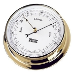 Weems & Plath Endurance 125 Brass Barometer 530700