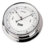 Weems & Plath Endurance 125 Chrome Barometer 540700