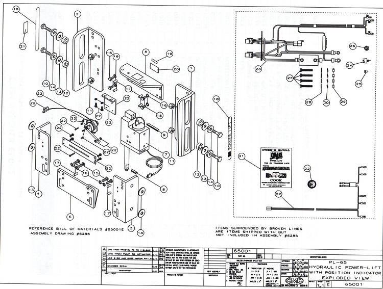 boat lift wiring diagram