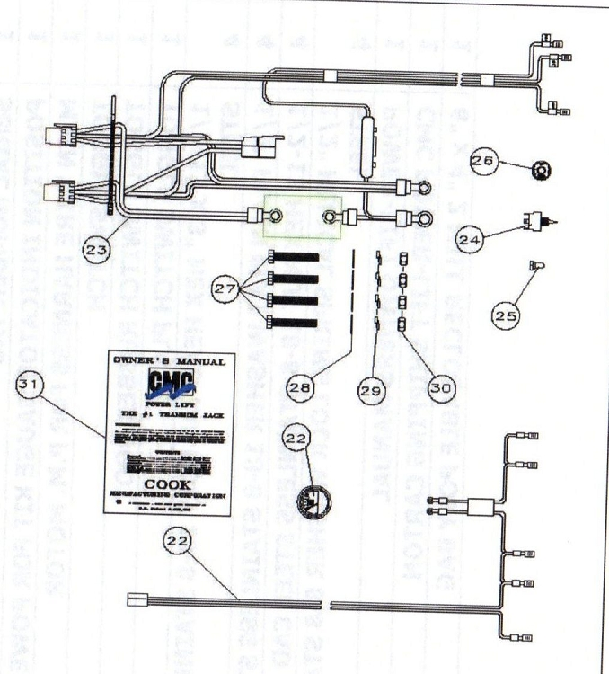 65301 R plete wiring harness diagram wiring diagrams for diy car repairs bob's jack plate wiring diagram at bayanpartner.co