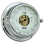 Weems & Plath Endurance II 135 Chrome Open Dial Barometer 960733