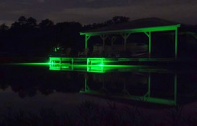 Led Utility Light >> Hydro Glow DS 6O Underwater LED Dock Lighting Green Fish Light with 50' cord