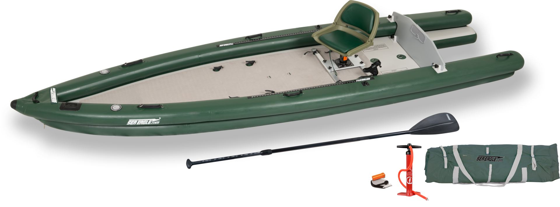 Sea eagle inflatable fishskiff 16 fishing boat for Inflatable fishing boats