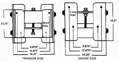 Jack_Plate_Dimensions th marine hydro jacker™ self contained hydraulic jack 10 hydro jacker jack plate wiring diagram at bayanpartner.co