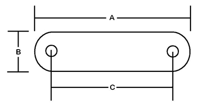 Transom Support Dimensions