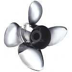 Apollo 4-Blade 993203 Stainless Steel Boat Propeller 14 5/8 X 16  R4